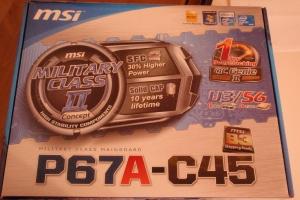 MSI P67A-C45 (B3) Motherboard